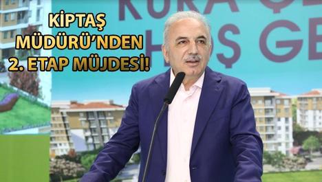 KİPTAŞ Silivri Konutları 3. Etap'ta kura heyecanı yaşandı!