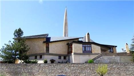 Malatya'daki Beşgen cami mimarisiyle dikkat çekiyor