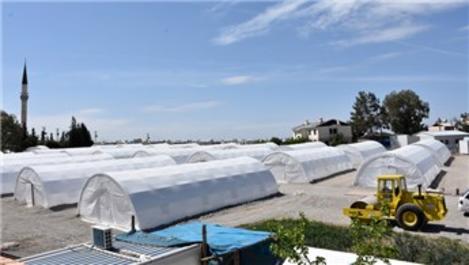 Samsat'ta kurulan çadır çarşısıyla ekonomi canlanacak