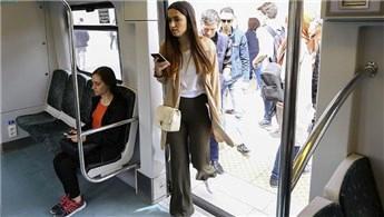 Başkentray'da yolcu sayısı 800 bine yaklaştı