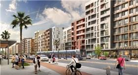 Sur Yapı Antalya projesinin caddesi göz dolduruyor
