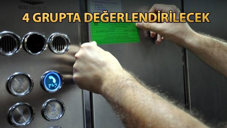 Riskli asansörler 60 gün içinde güvenli hale getirilecek