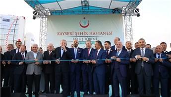 Kayseri Şehir Hastanesi Açılış Töreni yapıldı