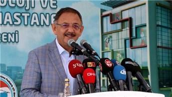 'Kayseri Şehir Hastanesi 5 yıldızlı oteller kadar lüks'