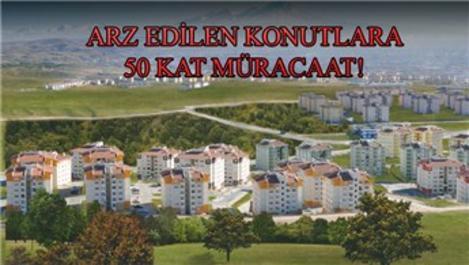 Anadolu'dan TOKİ konutlarına yoğun talep geliyor