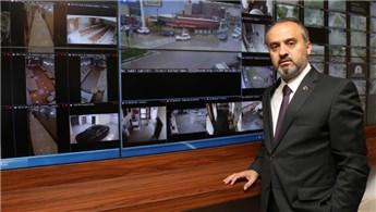 Bursa, akıllı şehir uygulamalarıyla 7/24 gözlem altında!