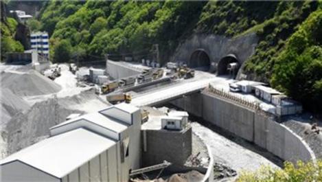 Zigana Tüneli inşaatı tam gaz ilerliyor!