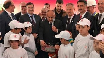 Avrupa Konutları İlkokulu'nun temel atma töreni yapıldı