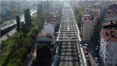 Gebze-Halkalı demiryolu hattının yüzde 78'i tamamlandı