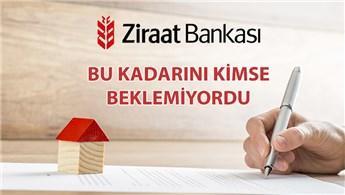 Konut kredisi faizinde ilk indirim Ziraat Bankası'ndan!