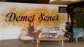 Next Level AVM, Demet Şener'i ağırladı!