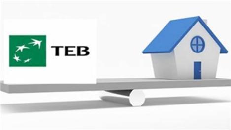 TEB, konut kredisi faizlerini yüzde 0,99'a kadar düşürdü