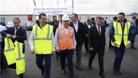 Bakan Arslan, Ankara-Kahramankazan inşaatını inceledi