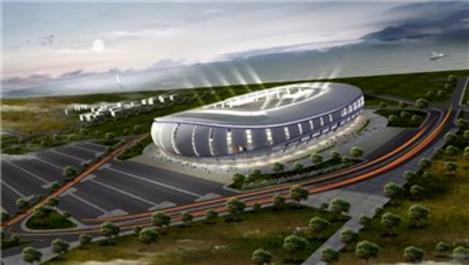 Ordu'da inşa edilen yeni stadın yüzde 80'i tamamlandı