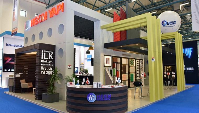 Hekim Yapı 41. İstanbul Yapı Fuarı'nda yeni ürünlerini sergiledi