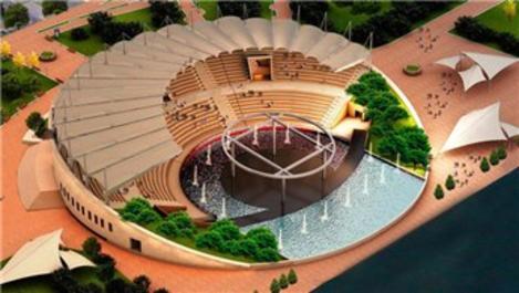 Gemlik'e kültürel değer katacak olan amfitiyatronun temeli atıldı