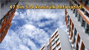 Türkiye genelinde nisanda 103 bin 87 konut satıldı