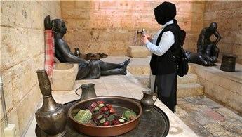 Gaziantep'teki Hamam Müzesi nostalji yaşatıyor