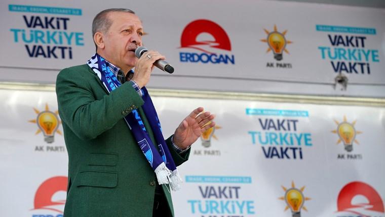 """""""Erzurum'a 16 yılda 22,5 katrilyon liralık yatırım yaptık"""""""