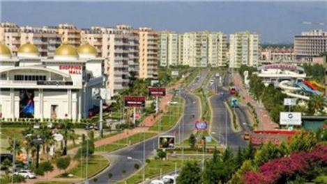 Antalya Aksu'da bazı alanlar kentsel dönüşüm alanı ilan edildi