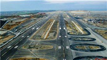 Yeni havalimanının pisti test edildi