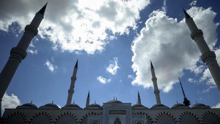 Çamlıca Camisi'nde sona doğru