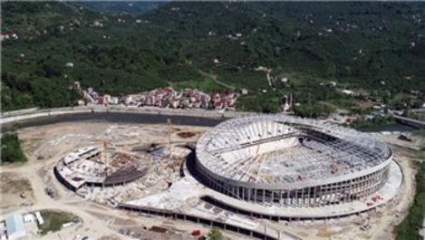 Çotanak Stadı yıl sonunda hizmete girecek