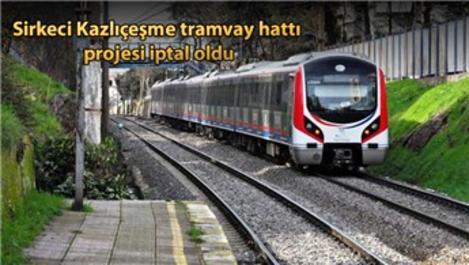 Sirkeci Kazlıçeşme tren hattı yeniden hizmete açılıyor!