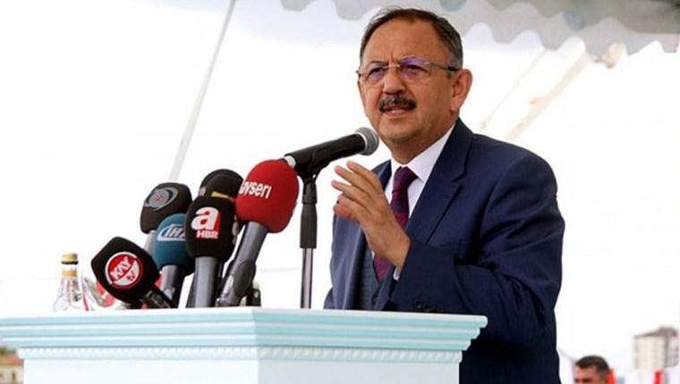 Bakan Özhaseki: Türkiye'deki yapıların yüzde 60'ı imara aykırı!