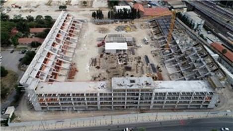İzmir'deki stat inşaatları yükseliyor