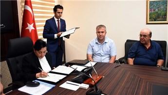 Muğla'da hayırsever iş adamından okul için arsa bağışı yaptı