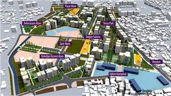 Örnekköy'de kentsel dönüşüm temeli atıldı