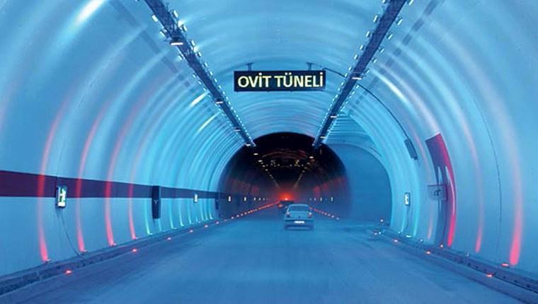 Ovit Tüneli, 13 Haziran'da açılacak