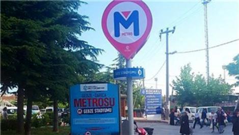 Gebze Darıca Metro hattının duraklarının yerleri belli oldu