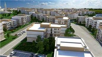 TOKİ'nin yatay mimari konseptiyle inşa ettiği projeye yoğun talep