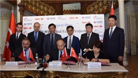 Çin, Aydın ve Manisa'da rüzgar enerjisine yatırım yapacak