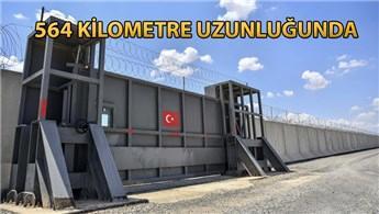 TOKİ, Suriye sınırındaki güvenlik duvarını tamamladı