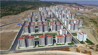 TOKİ, Akgedik Yunuskent projesinde anahtar teslimlerini yaptı