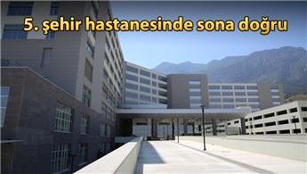 Manisa Şehir Hastanesi'nin yüzde 93'ü tamamlandı
