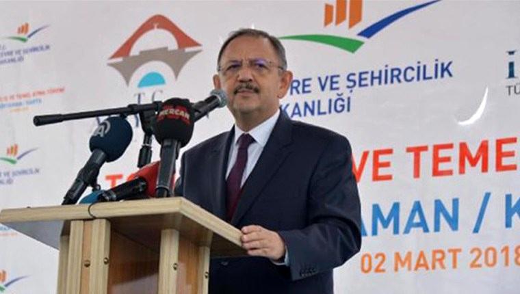 Bakan Özhaseki: İmar kirliliği oluşturana hapis cezası var!
