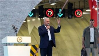 Sabuncubeli Tüneli ulaşıma açıldı