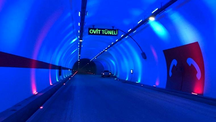 Ovit Tüneli'nin açılışını Cumhurbaşkanı Erdoğan yapacak
