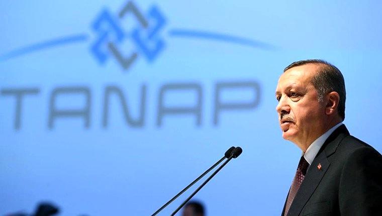 TANAP'ın açılışını Cumhurbaşkanı Erdoğan yapacak