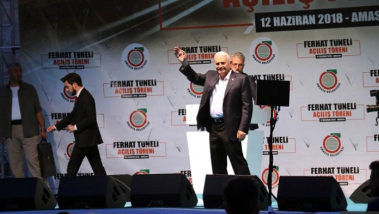 Amasya'da Ferhat Tüneli Açılış Töreni yapıldı