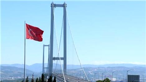 Osmangazi Köprüsü 12,5 milyon aracı taşıdı