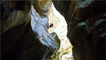 """""""Harmankaya Kanyonu"""" turizme açılıyor"""