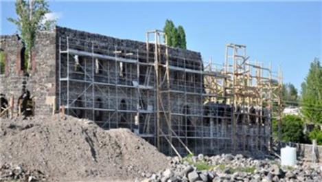 Beylerbeyi Sarayı'nda restorasyon devam ediyor