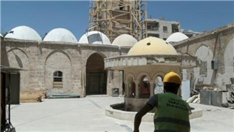Bab'daki tarihi cami ve çarşı restore ediliyor
