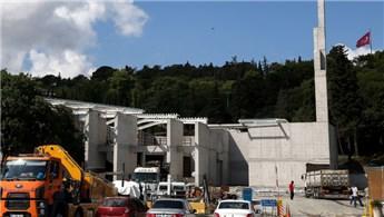 """""""15 Temmuz Şehitler Müzesi"""" inşaatı hızla devam ediyor"""