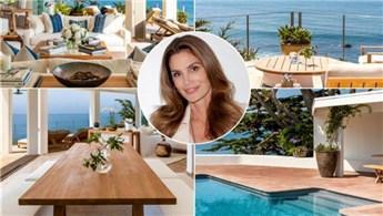 Cindy Crawford ve eşi Malibu'daki evini 45 milyon dolara sattı